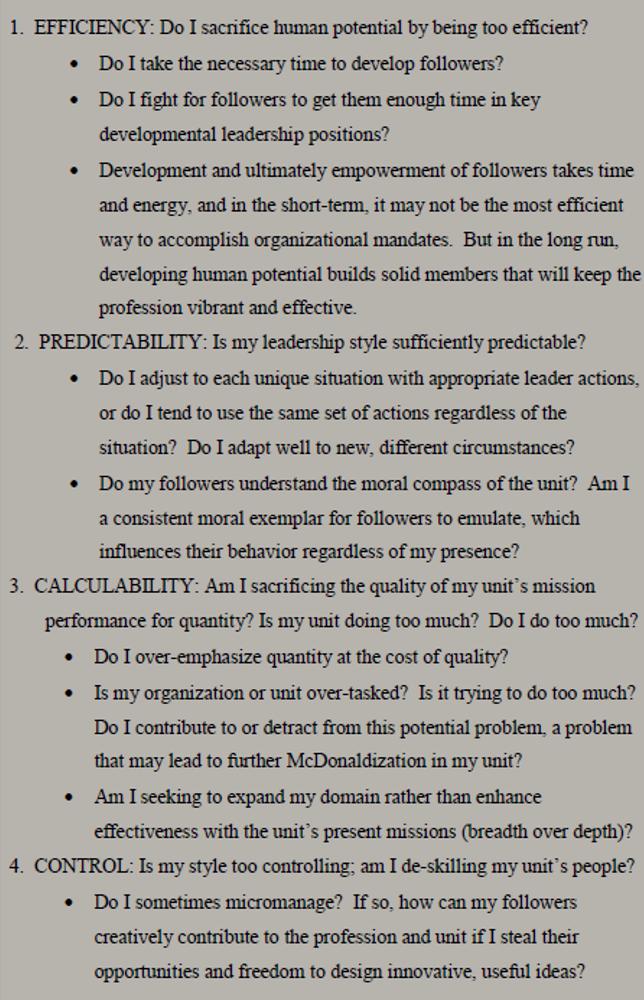 mcdonaldisation thesis This paper demonstrates that this thesis does not adequately speak to the nature of production and consumption la thèse de la mcdonaldisation et le tourisme de.