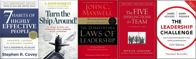 3x5 Leadership Leaders Are Readers Series Part I Books