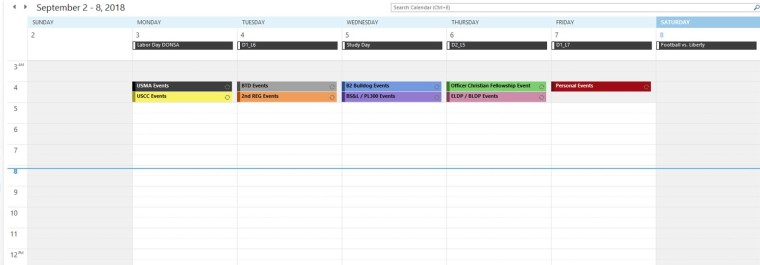 3 Key Elements to a Young Leader's Organization_3x5 Leadership_Digital Calendar